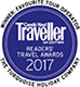 Conde Nast Traveller Awards 2017