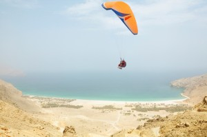 Paragliding Zighy Bay