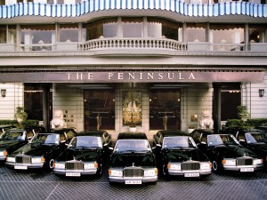 Rolls Royces' The Peninsula