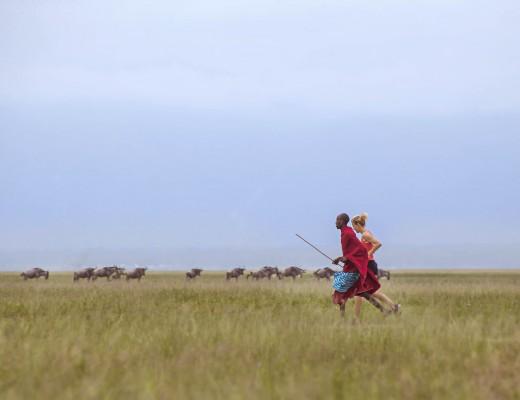 Running in Northern Tanzania