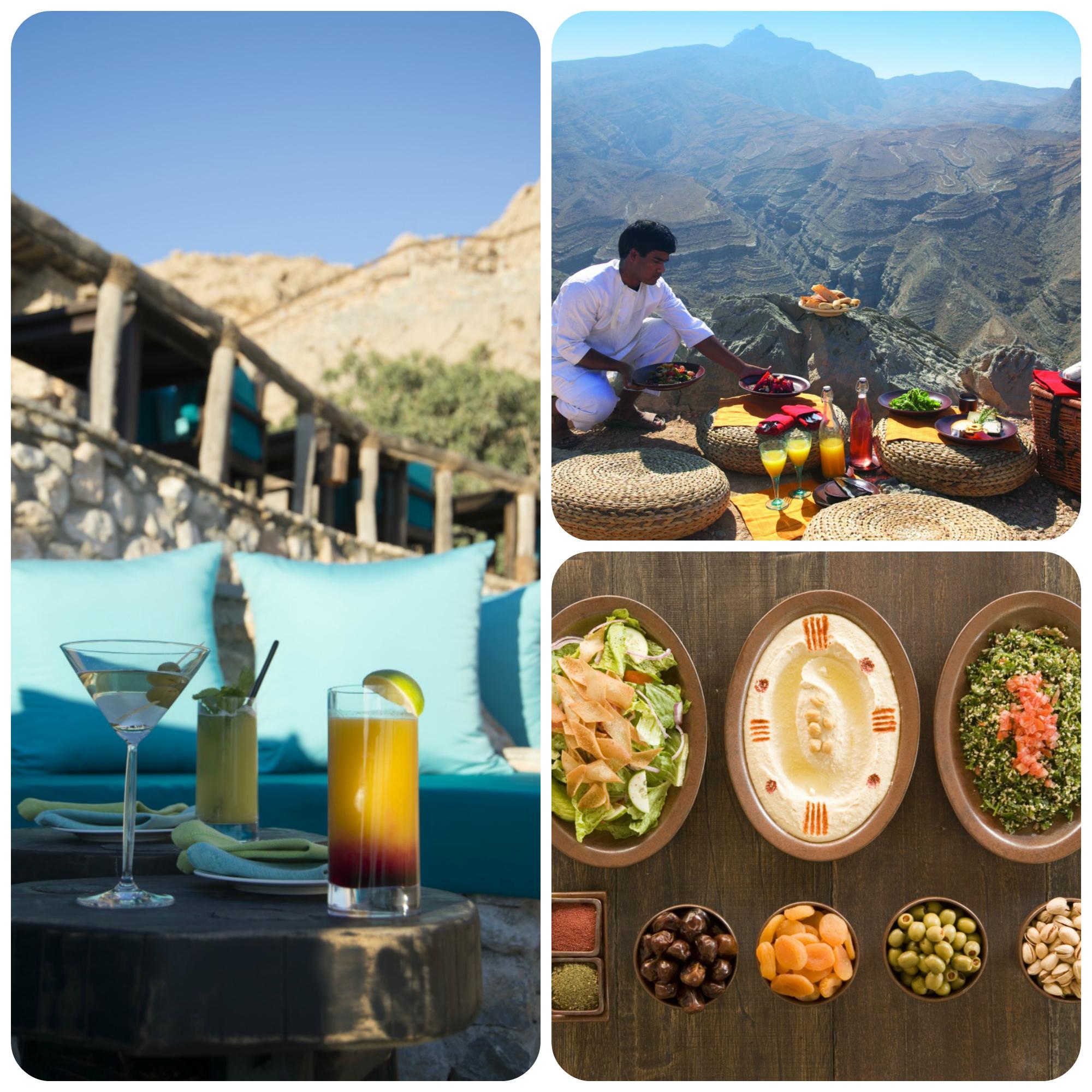 The Food at Six Senses Zighy Bay