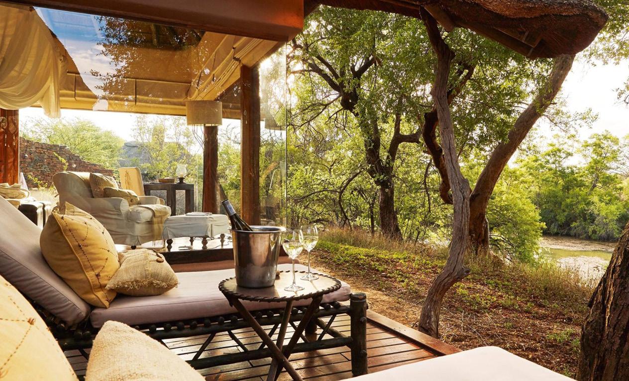 Sanctuary Makanyane Safari Lodge Bedroom beach safari holiday