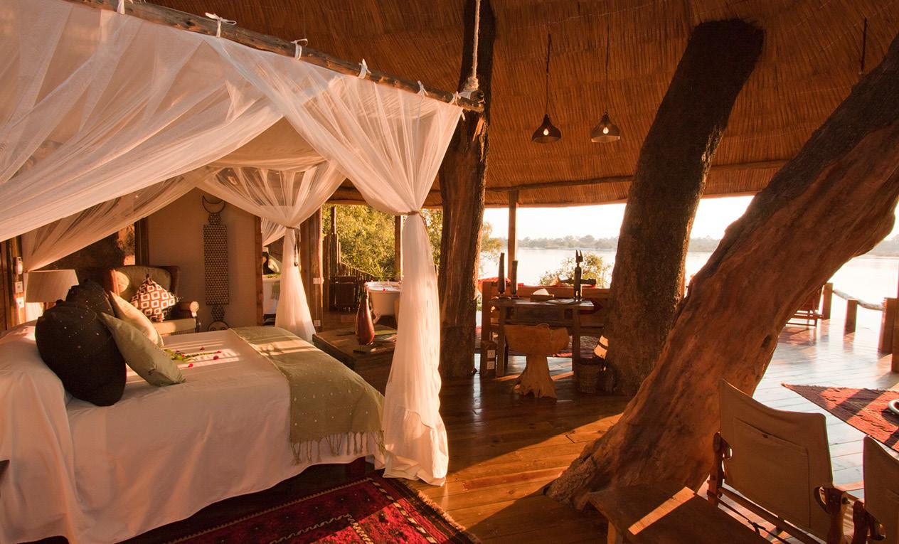 Tongabezi Lodge safari beach holiday