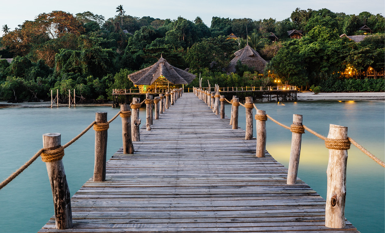 fundu lagoon safari beach holiday