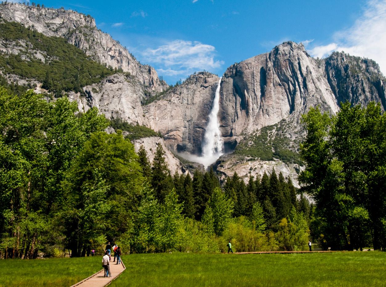 mammoth lakes california waterfall