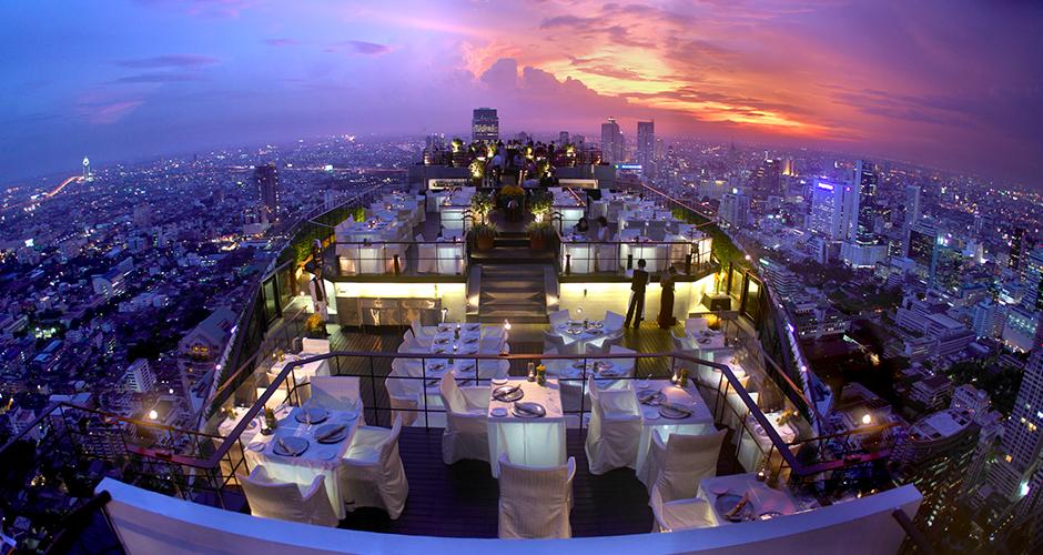 Banyan Tree Bangkok romantic valentines day