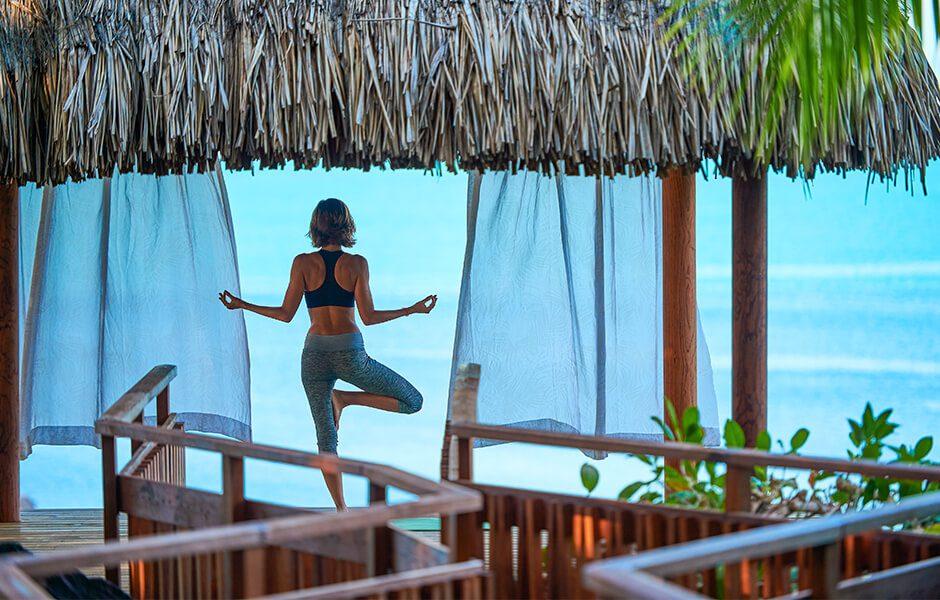 Conrad Bora Bora Nui- Yoga