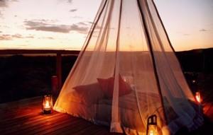 makanyane tent bed