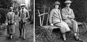 george vi and elizabeth on honeymoon