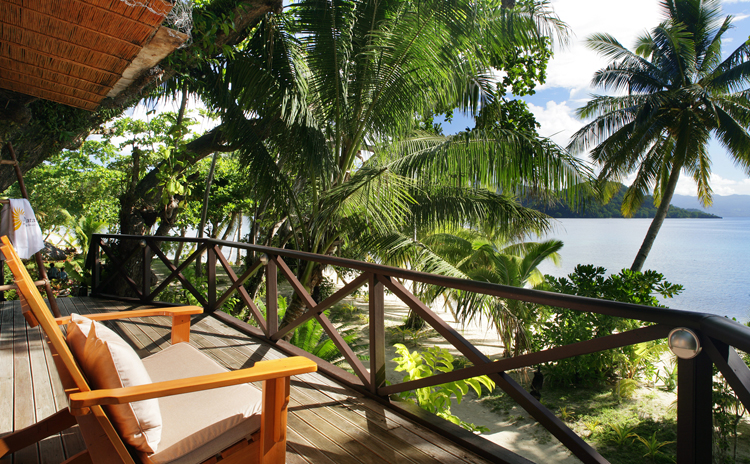 Matangi Treehouse View