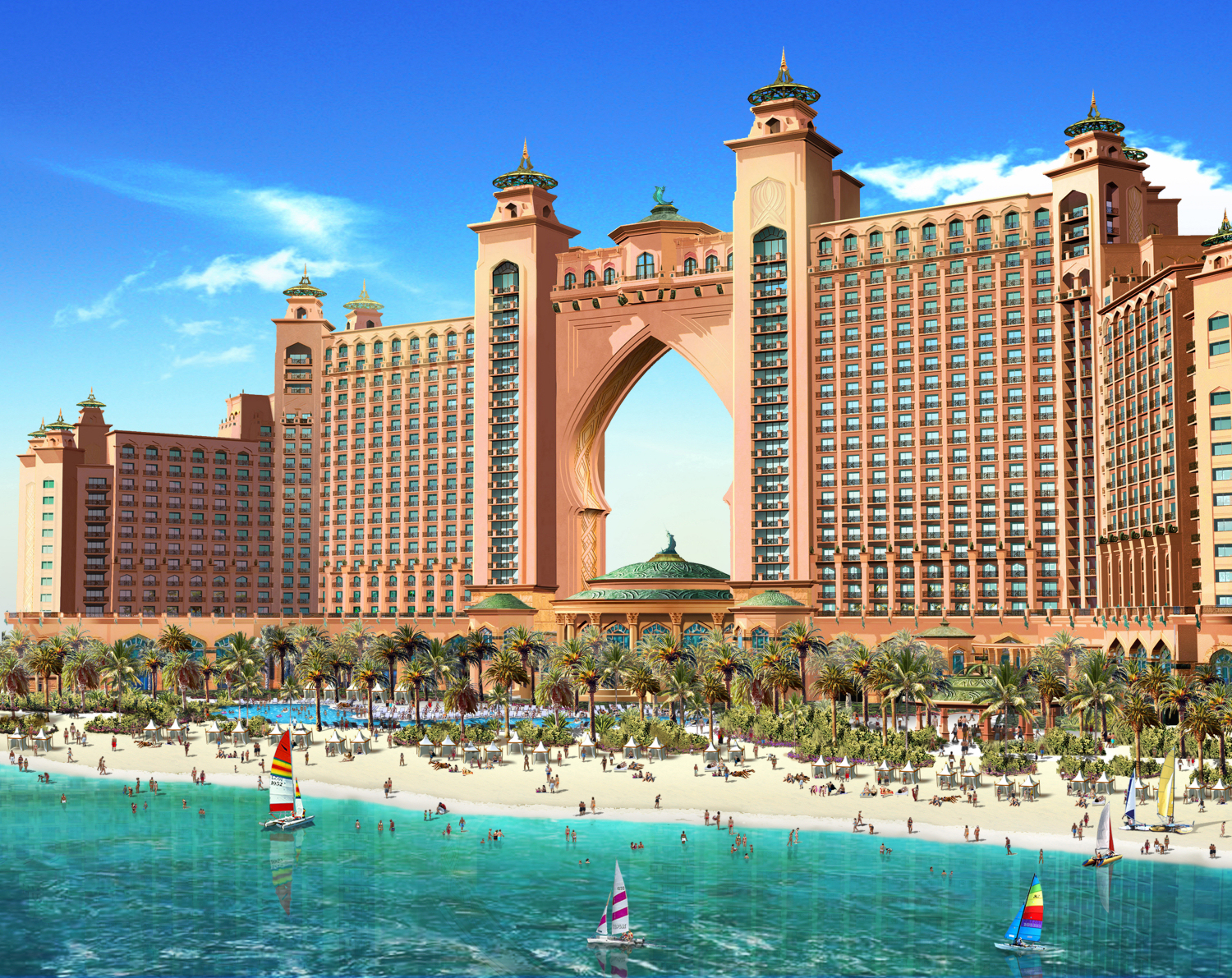 Discover dubai the underwater world of atlantis luxury for Luxury hotels in dubai