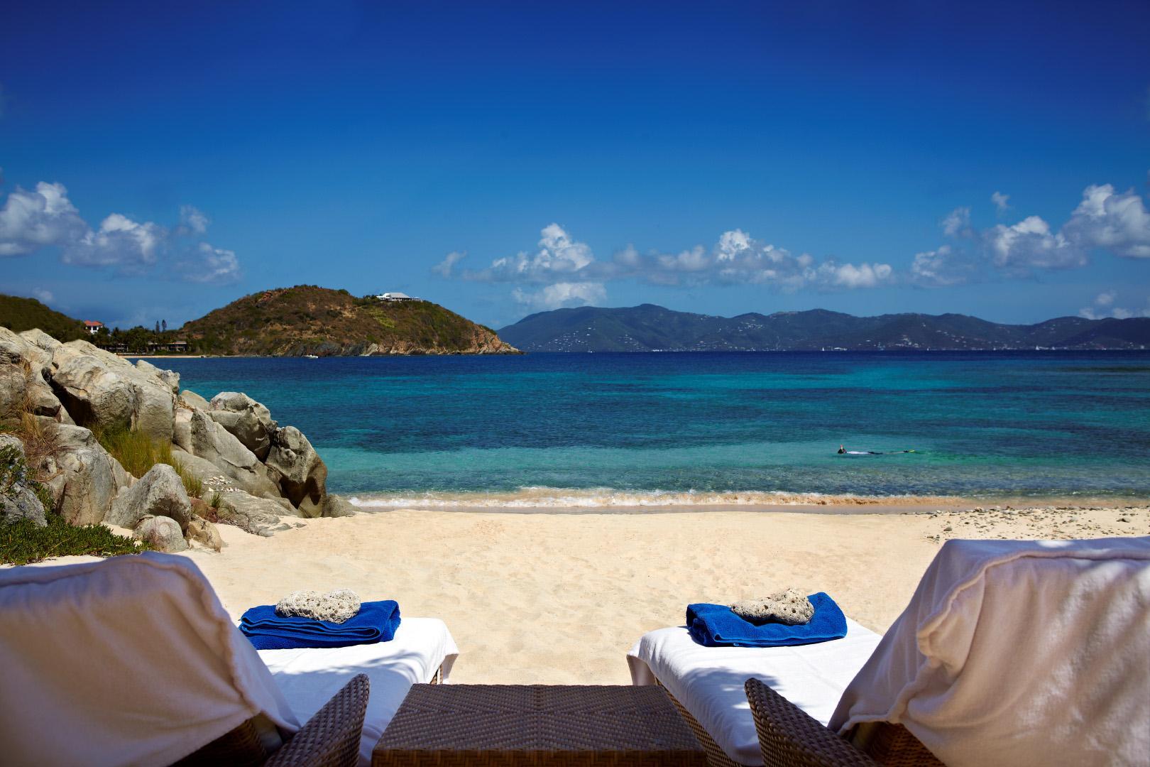 Honeymoon Beach Peter Island