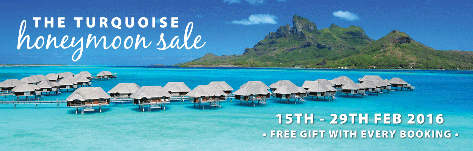 Turquosie Holidays Honeymoon Sale 2016