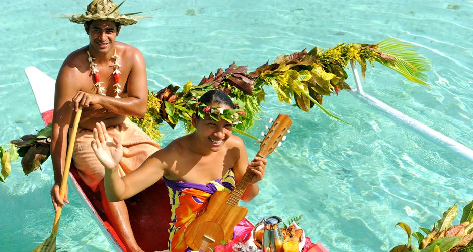 Le Taha'a Canoe Breakfast - Turquoise Holidays