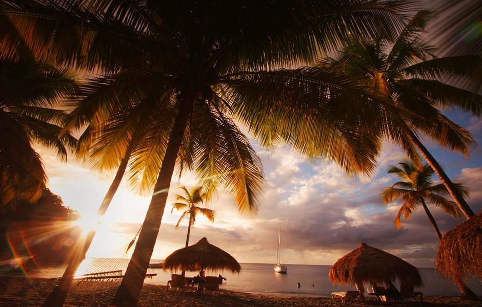 Anse Chastanet Saint Lucia Caribbean