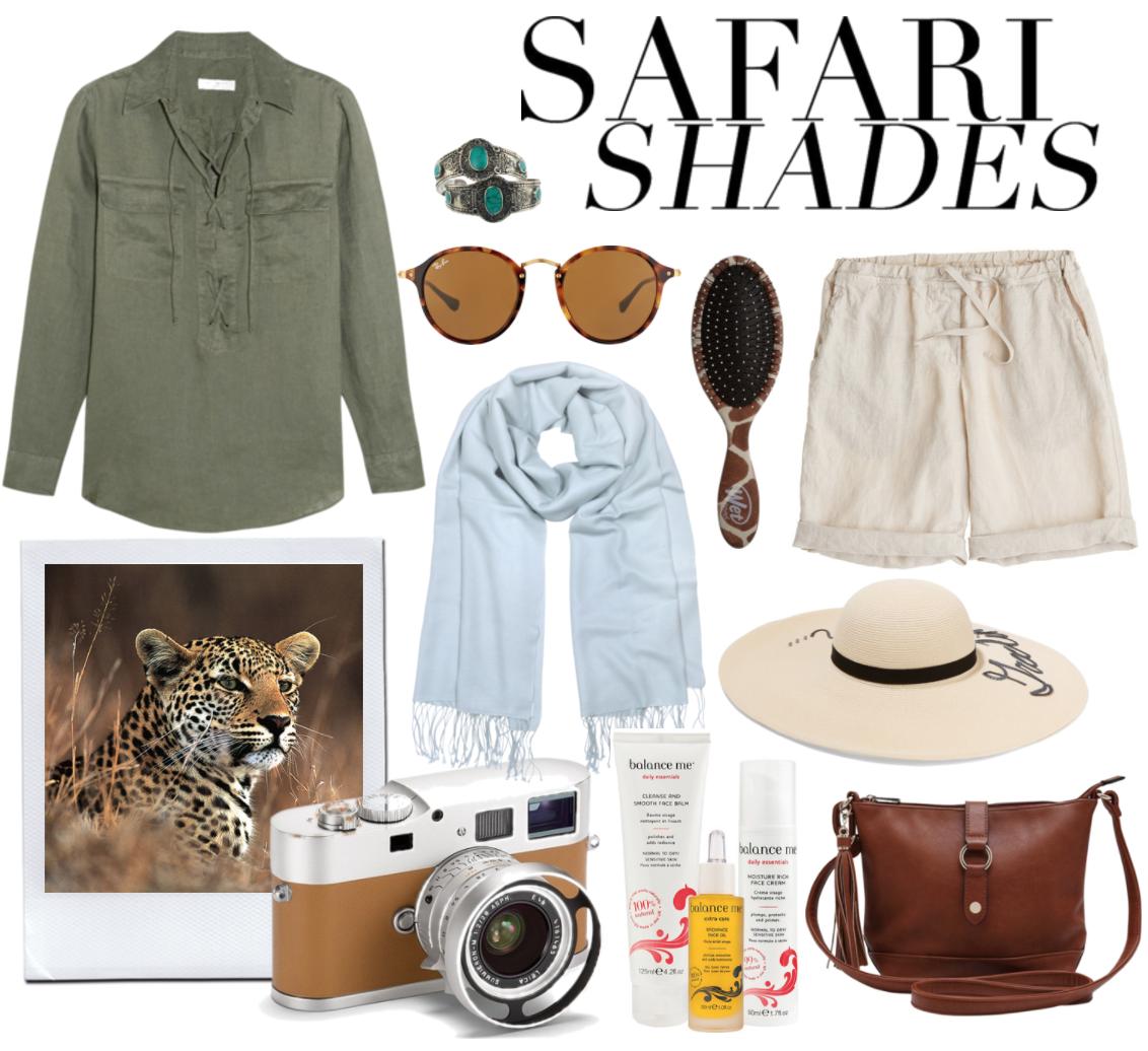 safari style what to wear on safari south africa