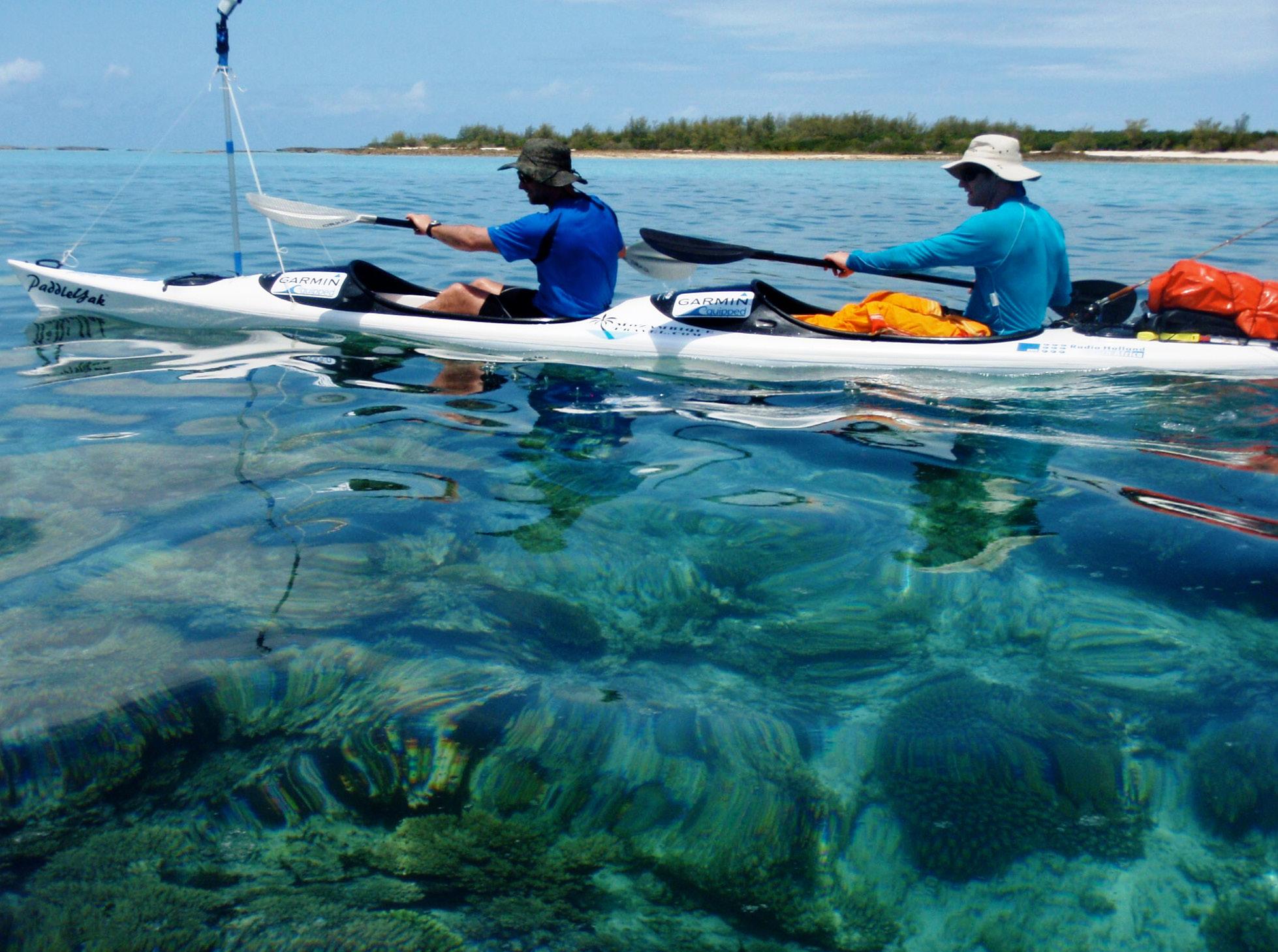Dhow safari northern Mozambique kayaking