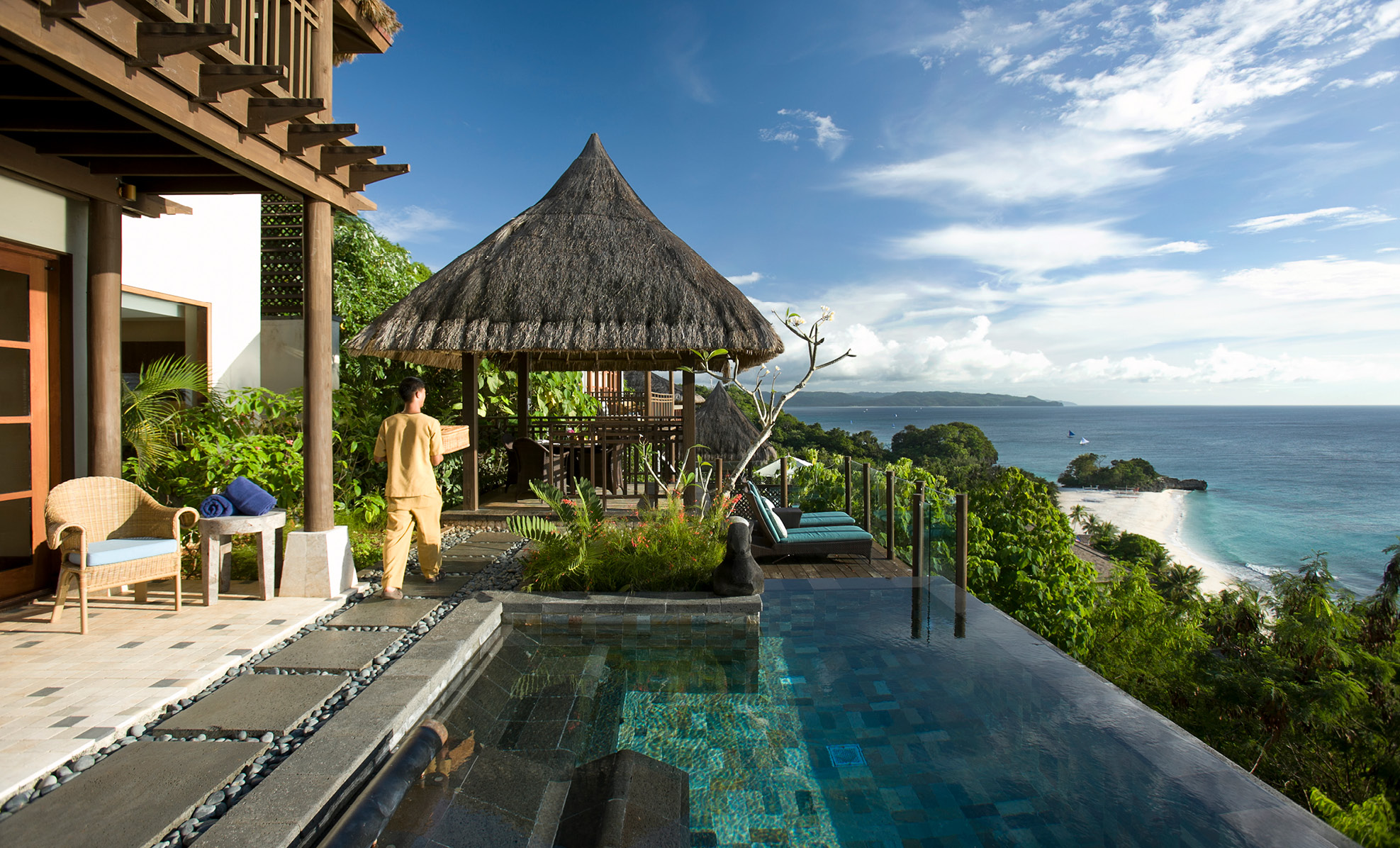 loft villa philippines shangri la boracay pool villas