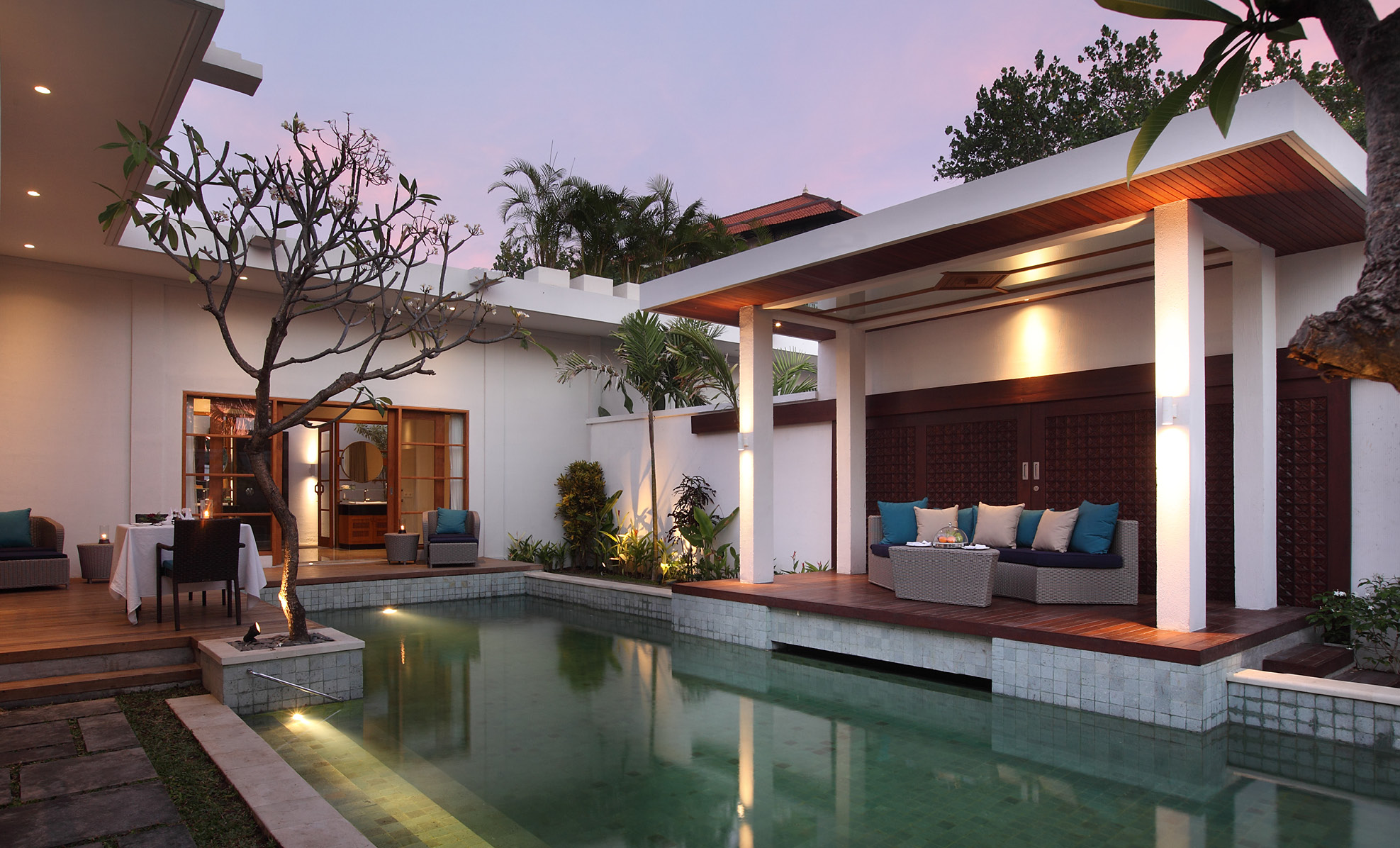 the-samaya seminyak pool pavilion bali