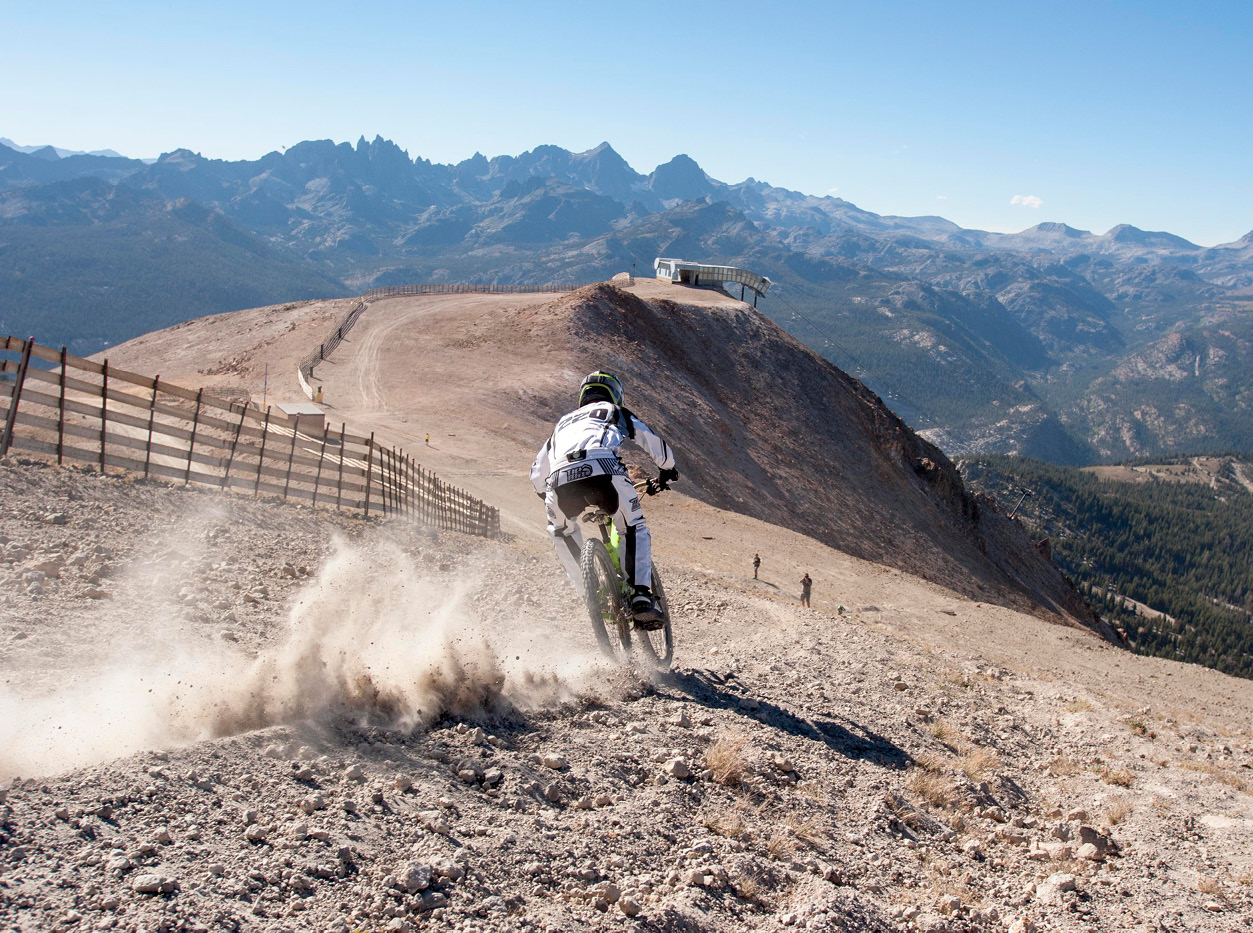 mammoth lakes california downhill biking