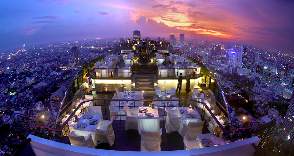 Banyan Tree Bangkok romantic valentines day
