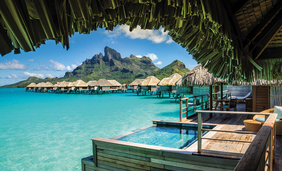 Tahiti Over Water Bungalow Four Seasons Bora