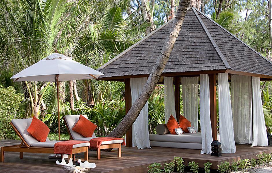 Seychelles - Denis Island sun deck