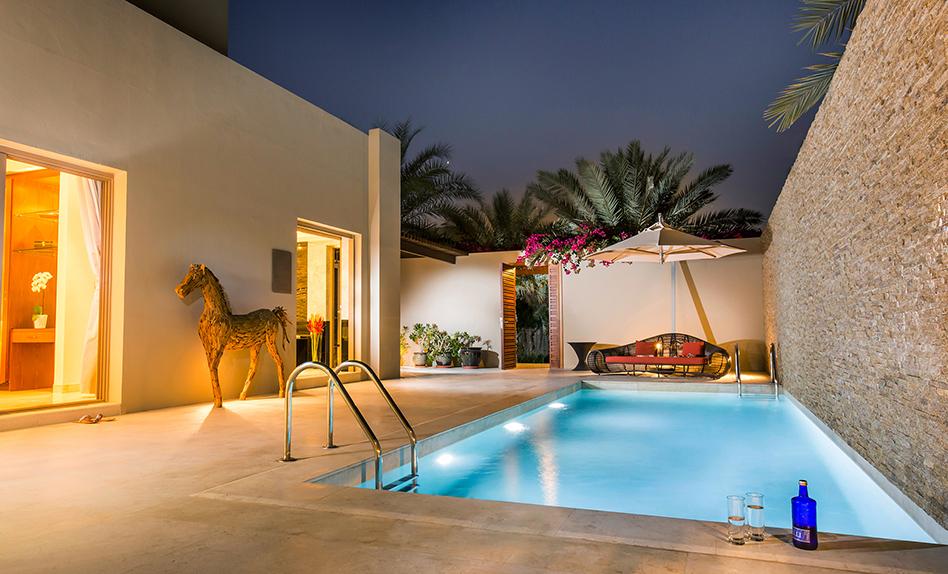Dubai desert palm