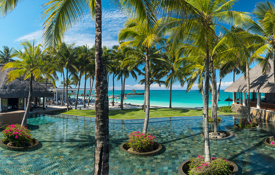 Mauritius constance belle mare plage