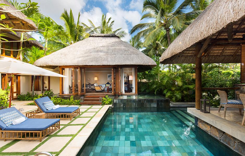 Mauritius constance belle mare plage villa suite