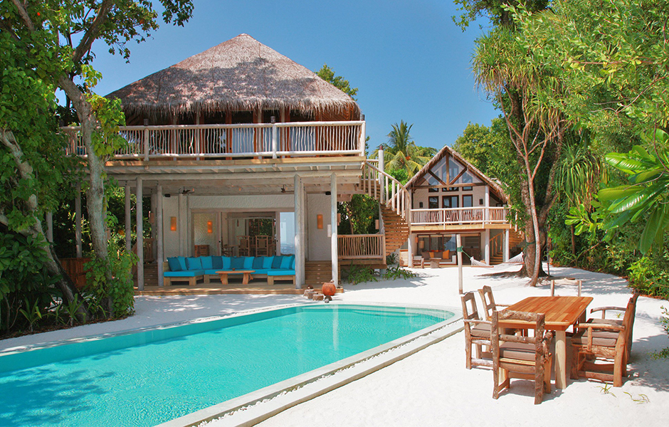 soneva fushi maldives beach villa