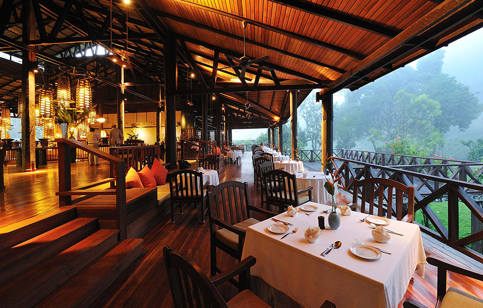 borneo rainforest lodge restaurant